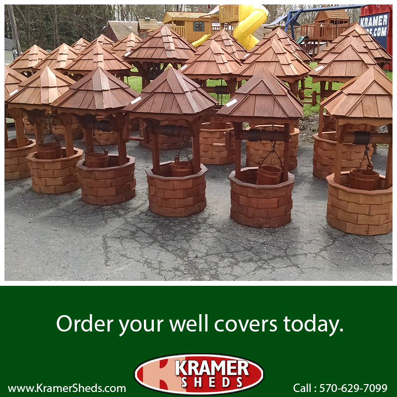 Kramers Sheds 187 Well Pipe Covers